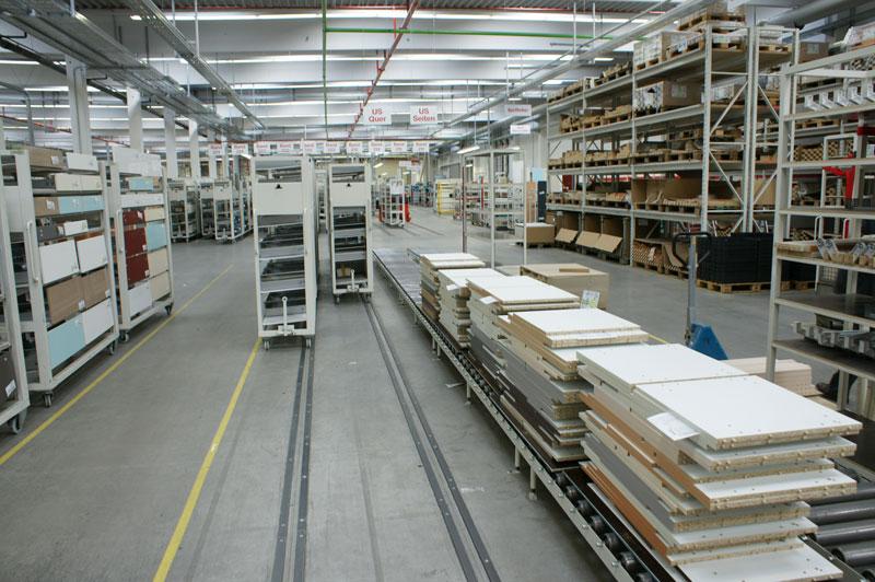 Erweiterung Fa Nobilia Gorlo Industrieboden